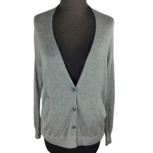 Lululemon Athletica Cardi in the Front Grey Size 2